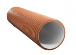 труба двухслойная политэк ф368/315 sn8 (колодец) (6м)