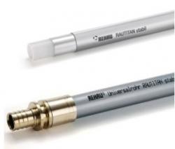 труба rehau rautitan stabil 16,2х2,6 мм, (pex-a) бухта 100 м