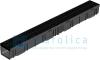 Комплект Gidrolica Light: лоток водоотводный ЛВ -10.11,5.9,5 - пластиковый с решеткой РВ- 10.11.50 пластиковой щелевой, кл. A15