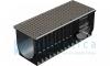 Комплект Gidrolica Light: лоток водоотводный ЛВ-30.38.48