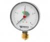 Манометр радиальный с указателем предела F+R201 (MHR) Корпус d=80 мм Watts