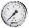Манометр аксиальный F+R100 (MDA) Корпус d=80 мм Watts