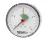 Манометр аксиальный с указателем предела F+R101 (MHA) Корпус d=50 мм Watts