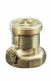 """Обратный клапан SVE, латунь, после насоса  Ду25, 1"""", *G  1 1/2 Oventrop"""