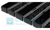 Придверная решетка Gidrolica Step - резина+текстиль 390х590мм