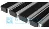 Придверная решетка Gidrolica Step - резина+щетка+скребок, м.кв.