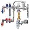 Сборный узел FAR с высокотемпературным контуром для системы напольного отопления с 3 отводами (ТР)