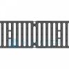 Решетка чугунная щелевая DN150 500/207/7, кл. С250 кН (BGF, BGU), с пружинным крепежом, Gidrolica