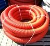Труба защитная двустенная N ПНД/ПВД 160мм красная (50м) Nashorn