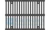 Решетка водоприемная Gidrolica Super РВ -30.37,5.50 - щелевая чугунная ВЧ, кл. E600