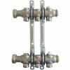 """Коллектор, 1"""", Multidis SH 3, выход-3/4"""" ЕК, нержавеющая сталь Oventrop"""