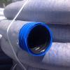 Труба дренажная двухслойная N ПНД d160 с перфорацией, в Typar-фильтре (50м) Nashorn