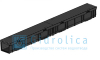 Комплект Gidrolica Light New: лоток водоотводный ЛВ -10.11,5.9,5 - пластиковыйс решеткой РВ- 10.11.50 пластиковой ячеистой, кл. A15