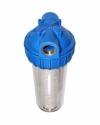 """Колба фильтра для воды 5"""" CFC-5K (резьба 1"""") с картриджем NT-5, Unipump"""