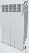 Радиатор алюминиевый Royal Thermo Revolution 350 / 10 секции