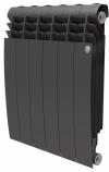 Радиатор биметаллический Royal Thermo BiLiner 500 Noir Sable / 10 секций